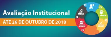 Avaliação institucional até 26 de outubro