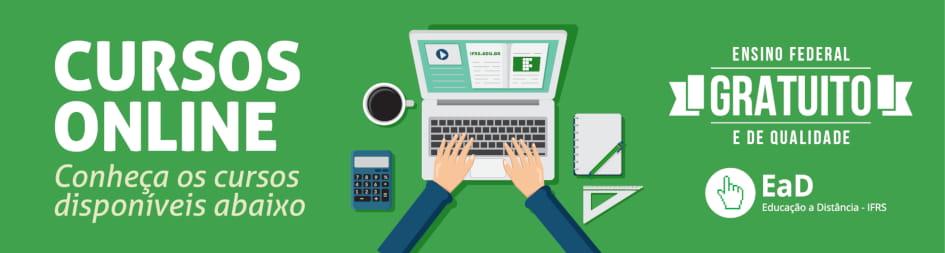 Cursos Online - Conheça os cursos disponíveis abaixo