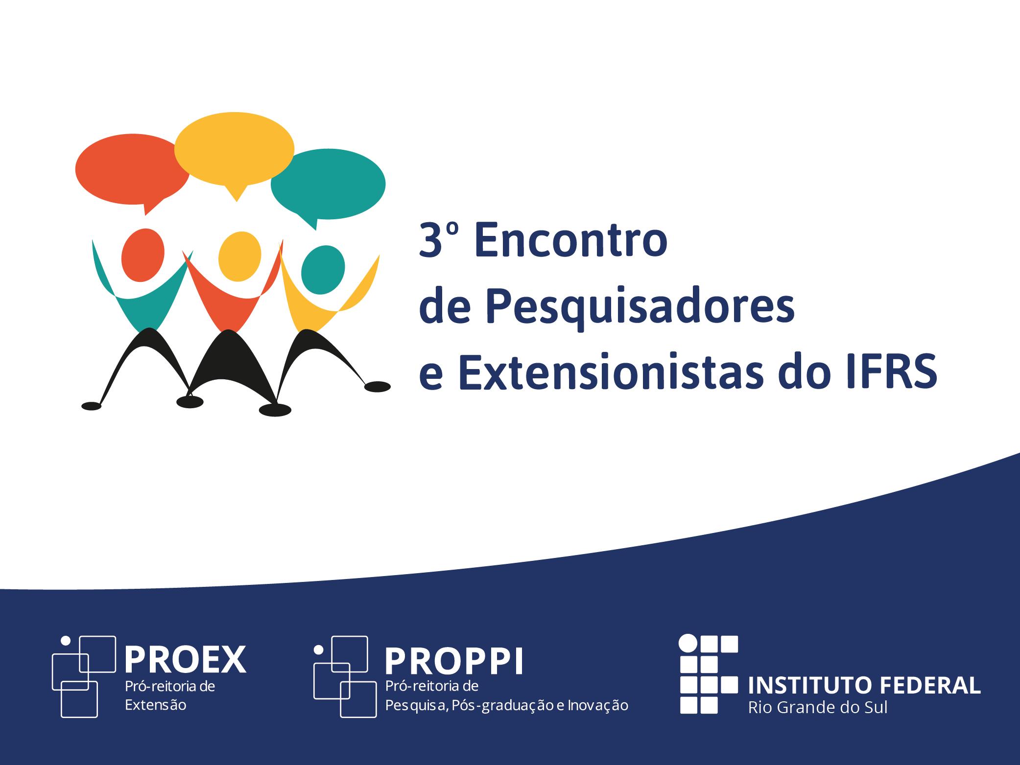 13ca13d218 3º Encontro de Pesquisadores e Extensionistas do IFRS abre inscrições